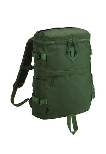 Coleman green Atlas Quadra Travel Backpack AF274ACFE4221EGS_1