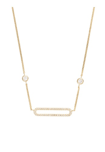 Wanderlust + Co gold Connect Sterling Silver Gold Necklace 7954CAC7A5BCCBGS_1