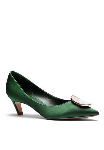 Twenty Eight Shoes 5CM 尖頭綢緞中踭鞋 1886-47 3ECBESHA32E13AGS_1