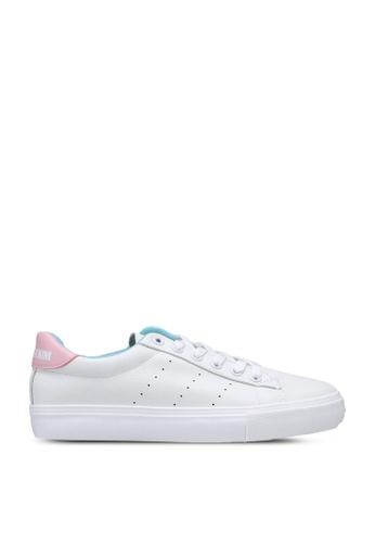 Keddo 白色 and 粉紅色 Jane Sneakers 89A53SH309F878GS_1