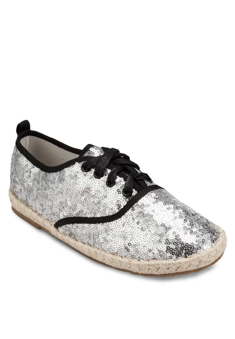 Occasion Glitter Espadrille Sneakers
