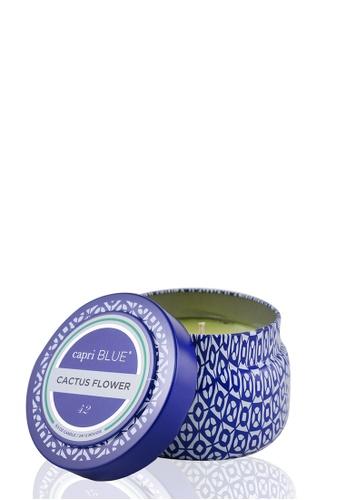 Capri Blue CAPRI BLUE - Printed Travel Tin Candle - Cactus Flower 241g/8.5oz 5A63AHL486B956GS_1