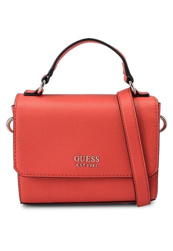 Guess orange Little Paris Mini Crossbody Flap Bag 94482ACCE5128CGS_1