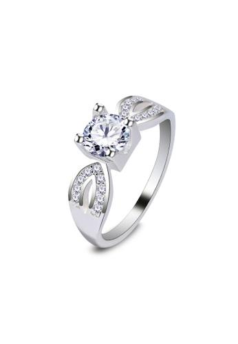 SC Tom Silver silver Ladies Stone Ring/Ladies Ring with Stone-RSL174 SC872AC33JXQPH_1