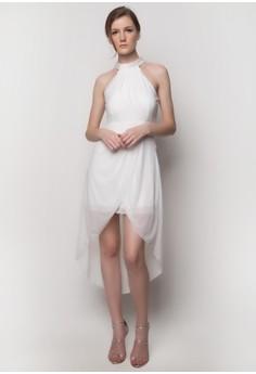 Beaded Halter Dress