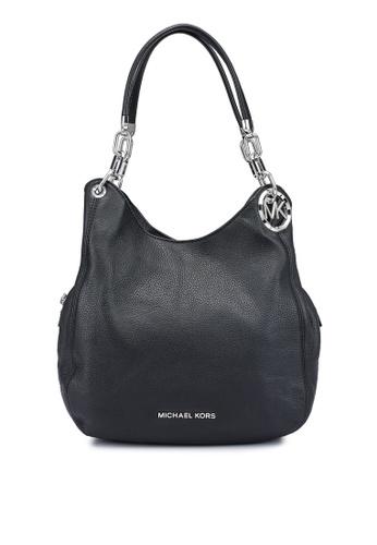 Michael Kors black Lillie L Shoulder Tote Bag (zt) F6E37AC3C7B0A8GS_1
