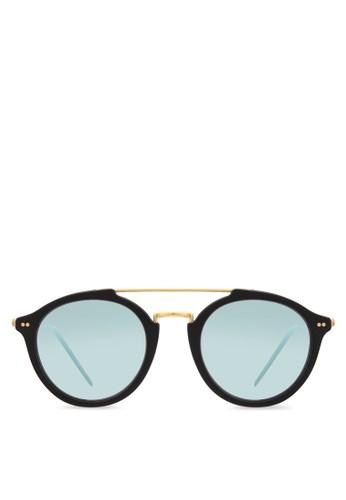 Fitzroy 圓框反光太陽眼鏡、 飾品配件、 飾品配件Kapten&SonFitzroy圓框反光太陽眼鏡最新折價