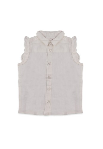 Giordano white Junior Linen Shirt 12CEEKAD58B3E0GS_1