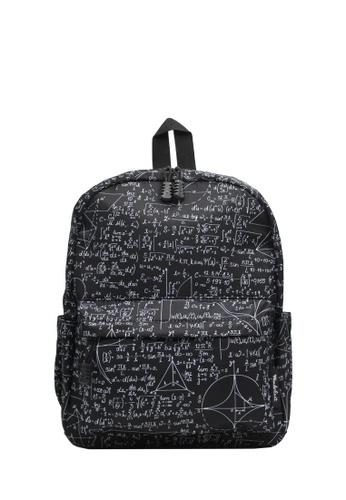 Wanderlust black and multi Wanderlust Backpack Geo F73C7KCB1E135CGS_1