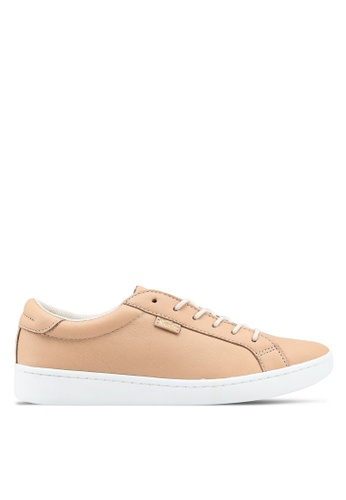 Keds brown Ace Ltt Leather Sneakers KE942SH0STEOMY_1