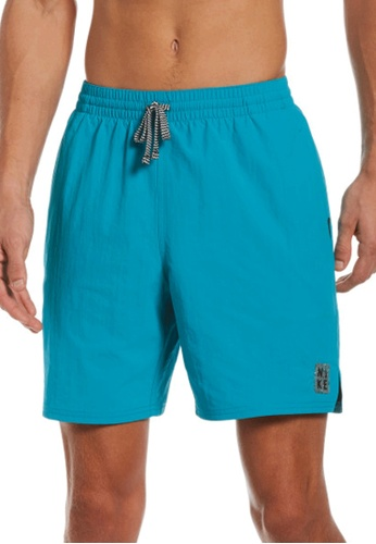 """Nike blue Nike Swim Men's Solid Icon 7"""" Volley Short 09A80USEE9A026GS_1"""