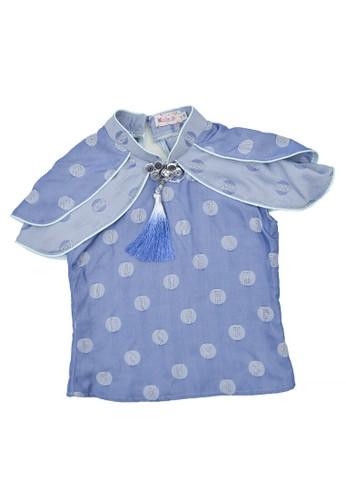 Karalla Kids blue Blouse rample blue F515CKA62F70E7GS_1