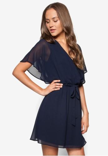 蕾絲拼zalora 折扣碼接裹飾洋裝, 服飾, 洋裝