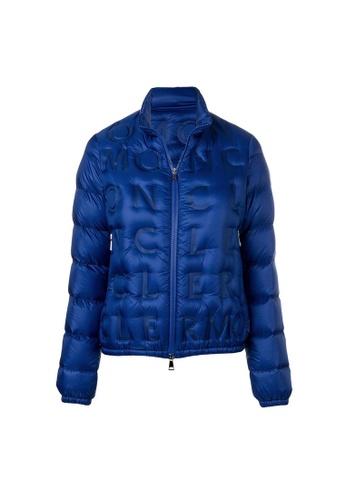 """Moncler blue Moncler """"Vilnius"""" Down Jacket in Blue DE158AAC1C9EA4GS_1"""