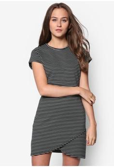 Bodycon Assymetric Dress