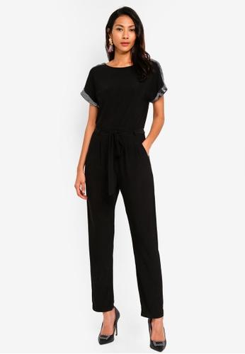 11c73e9ad5aa Buy Dorothy Perkins Embellished Shoulder Jumpsuit Online on ZALORA ...