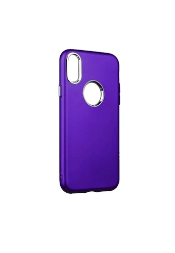 MobileHub blue MobileHub X-Level Soft Case For Apple iPhone X DE538ACF20AA7CGS_1