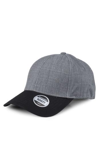 Penshoppe grey Denim Baseball Cap E2841AC2D67781GS_1