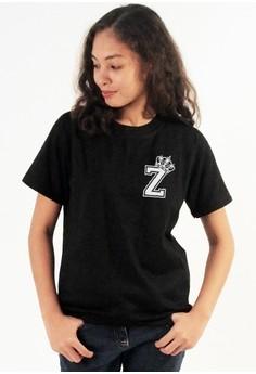 Queen's Initial Z Tee