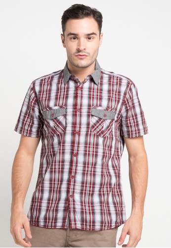 Watchout! Jeans red Short Sleeve Shirt 153 WA971AA43ANOID_1