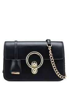 31f407ba7ffc Buy Lara Women s Front Flap Tassel Chain Crossbody Bag