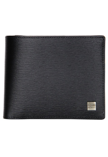 Picard black Picard Classic Men's Leather Bifold Wallet PI517AC0HAA1SG_1