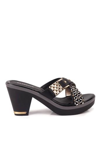 Clarette black Clarette Heels Rosalie Black CL076SH19QLCID_1