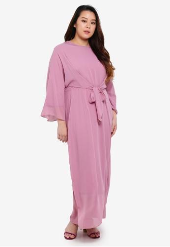 CURVA FABULOUS pink Ms Nelydia Pario Maxi 3A4E0AA7C2D4EBGS_1