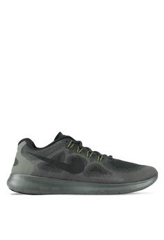 Nike Black Men S Free Rn Running Shoes Ni126sh0sfb1my 1
