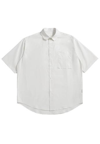 Twenty Eight Shoes Loose Cropped Pocket Short Shirt 2263S21 5C343AA11911E4GS_1