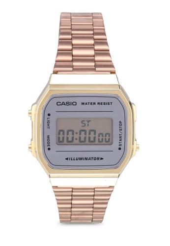 Casio gold Casio A168WECM-5DF Watch 23F81AC24C239AGS_1