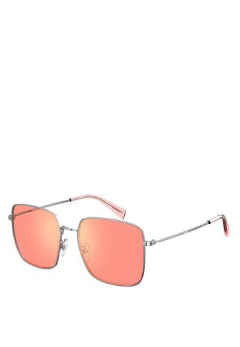 Levi's pink Lv 1007/S Sunglasses 453B5GLD563756GS_1