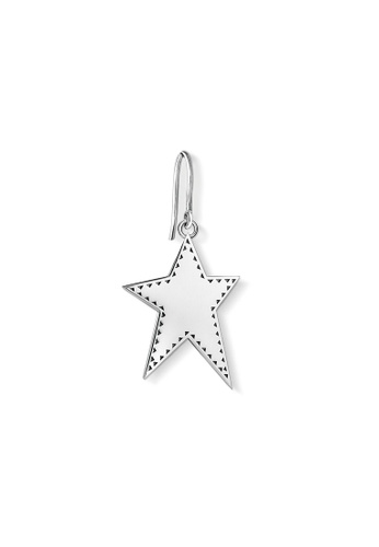 "THOMAS SABO silver earring ""star"" 6BA41AC17B2AA9GS_1"