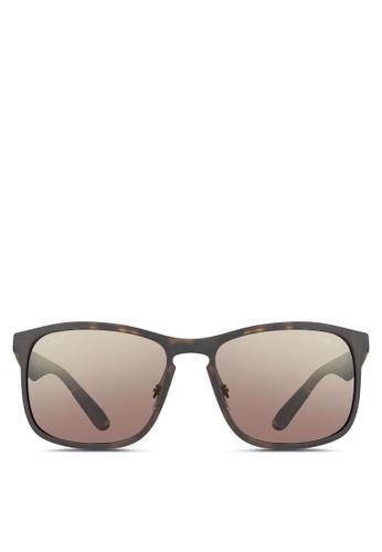 Ray-Ban brown RB4264 Chromance Sunglasses RA896GL81WIWMY_1