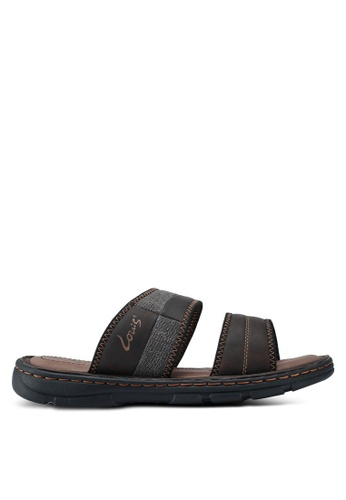 Louis Cuppers brown Casual Sandals 9EA87SHA4FF6B9GS_1
