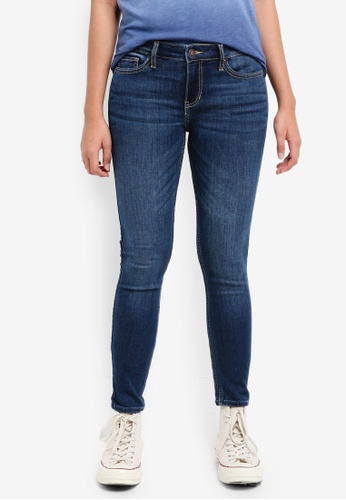 Hollister blue Medium Super Skinny Jeans C7DC7AAF47487BGS_1