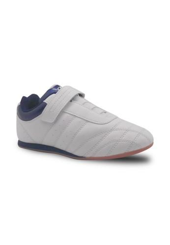 FANS white Fans Xperia W - Taekwondo Shoes White Navy FA469SH85JMKID_1