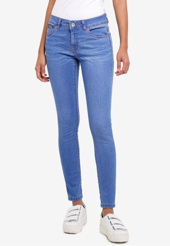 Superdry blue Cassie Skinny Jeans A84D0AAE6B7B42GS_1