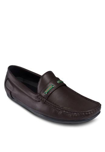 穿孔繫帶仿皮樂福鞋, 鞋,esprit台灣門市 鞋