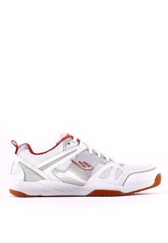World Balance white Flash Court MS Sports Shoes WO444SH0JTFRPH_1