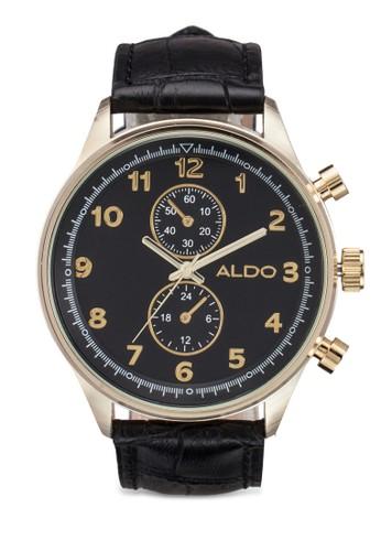 Shaddox 暗紋皮革手錶, 錶類, esprit暢貨中心男裝手錶