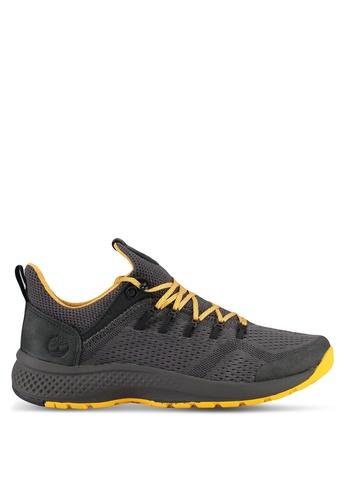 Timberland grey Flyroam Trail Low Fabric Shoes B4BFDSHBABFE9DGS_1