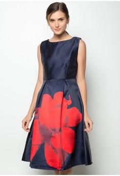 Satin Panel Dress
