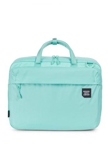 Herschel green Britannia Trail Messenger Bag HE958AC0KA70PH_1
