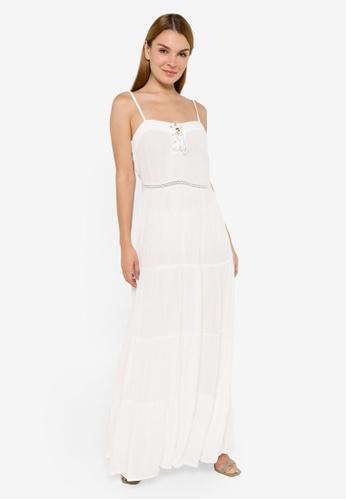 JACQUELINE DE YONG white Iris Sleeveless Ankle Dress FF26DAA9E00013GS_1