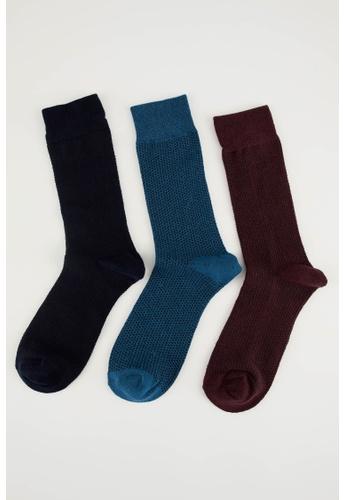 DeFacto multi 3-pack Socks 0D909AA88F2EA3GS_1