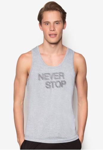 Neverzalora taiwan 時尚購物網 Stop 坦克背心, 服飾, T恤