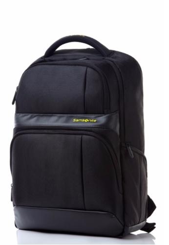 Samsonite black Samsonite Ikonn Laptop Backpack III (Black) SA581AC0SMDPMY_1