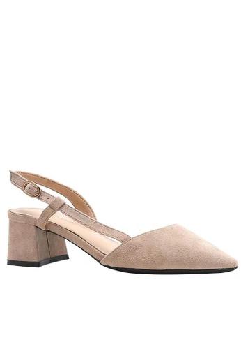 Twenty Eight Shoes Slingback Heel 181-3 008FFSH73A9101GS_1