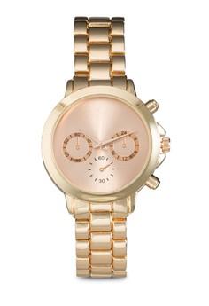 Clean Face Chain Watch